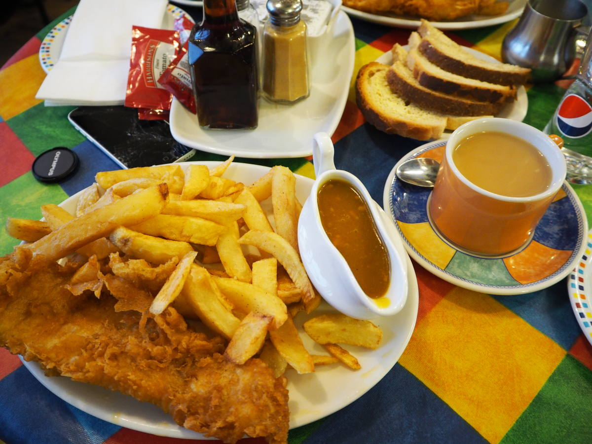 fish and chips winking willy's scarborough