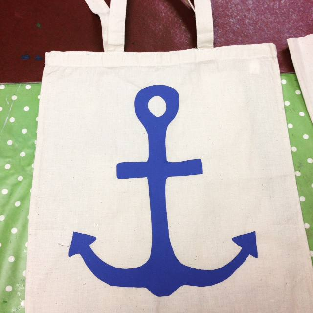 anchor totebag