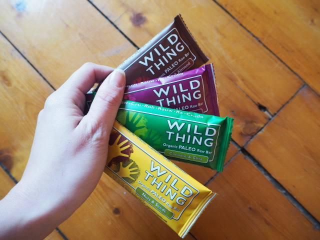 wild thing organic raw paleo bar
