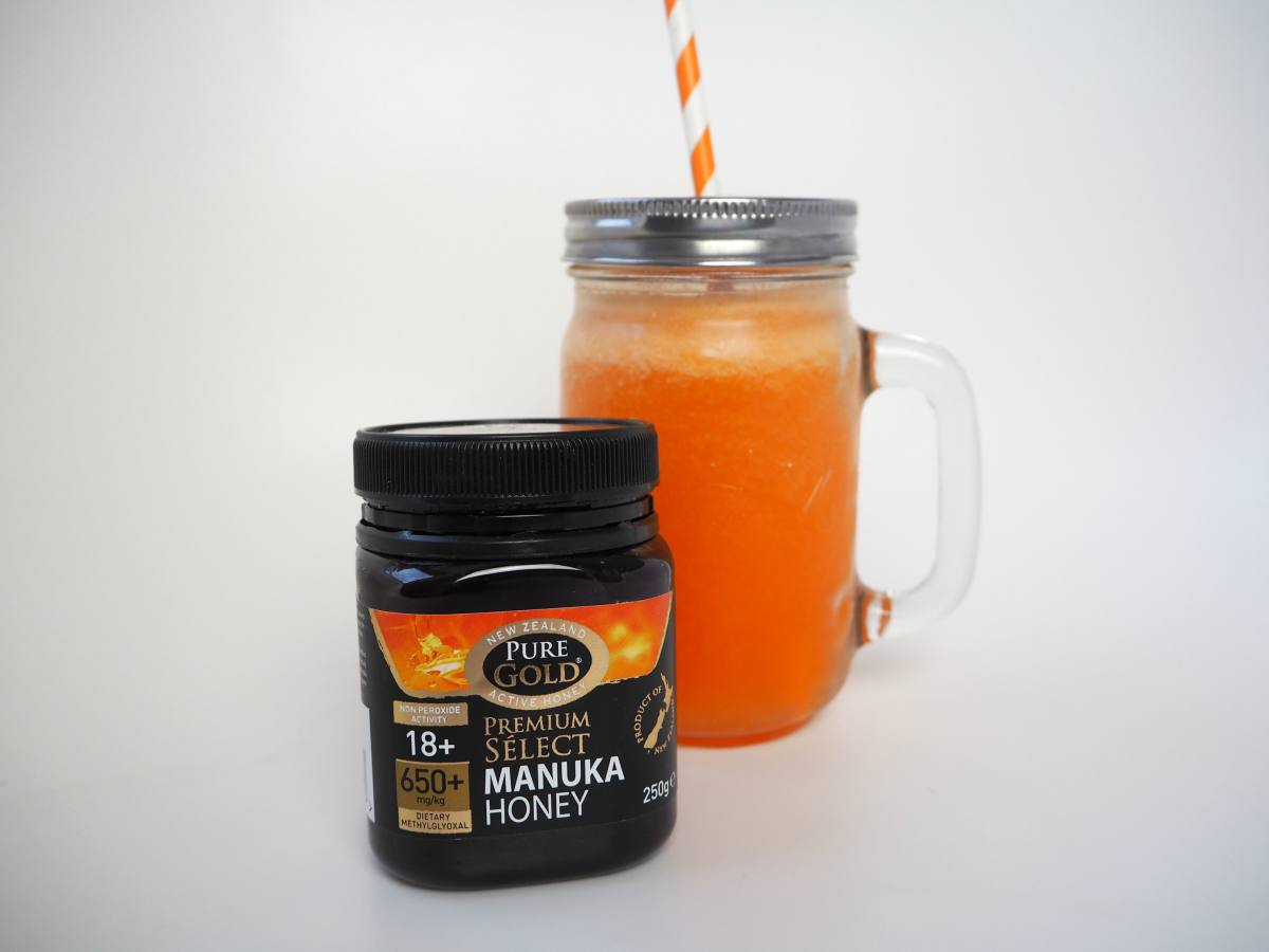 manuka honey smoothie