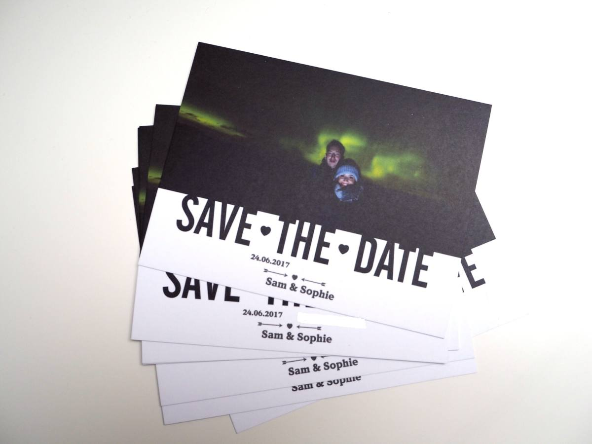 save the date vistaprint