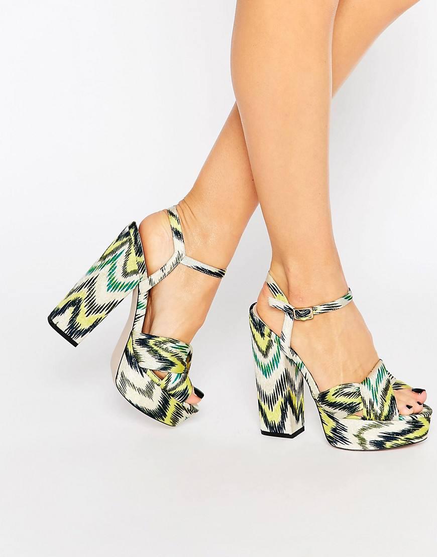 asos platform sandals