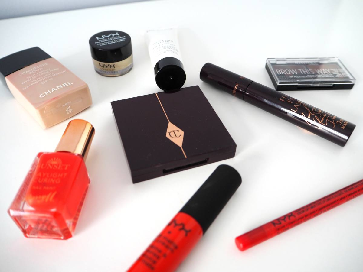 current make up faves