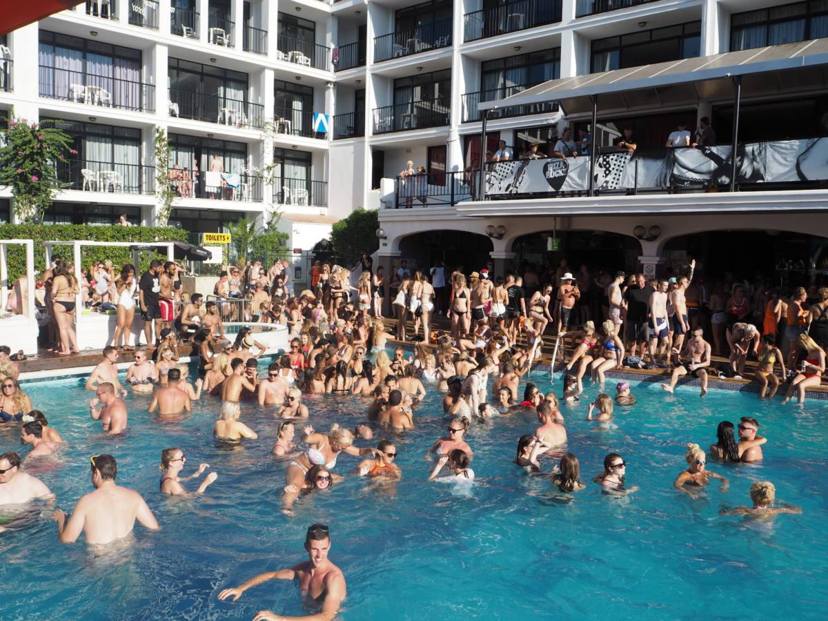 craig davids ts5 pool party at ibiza rocks