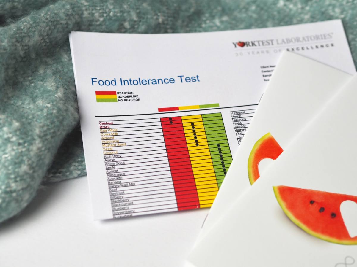 york test food intolerance test review