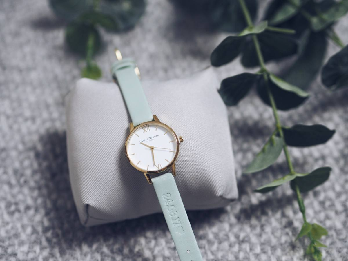 olivia burton personalised watch