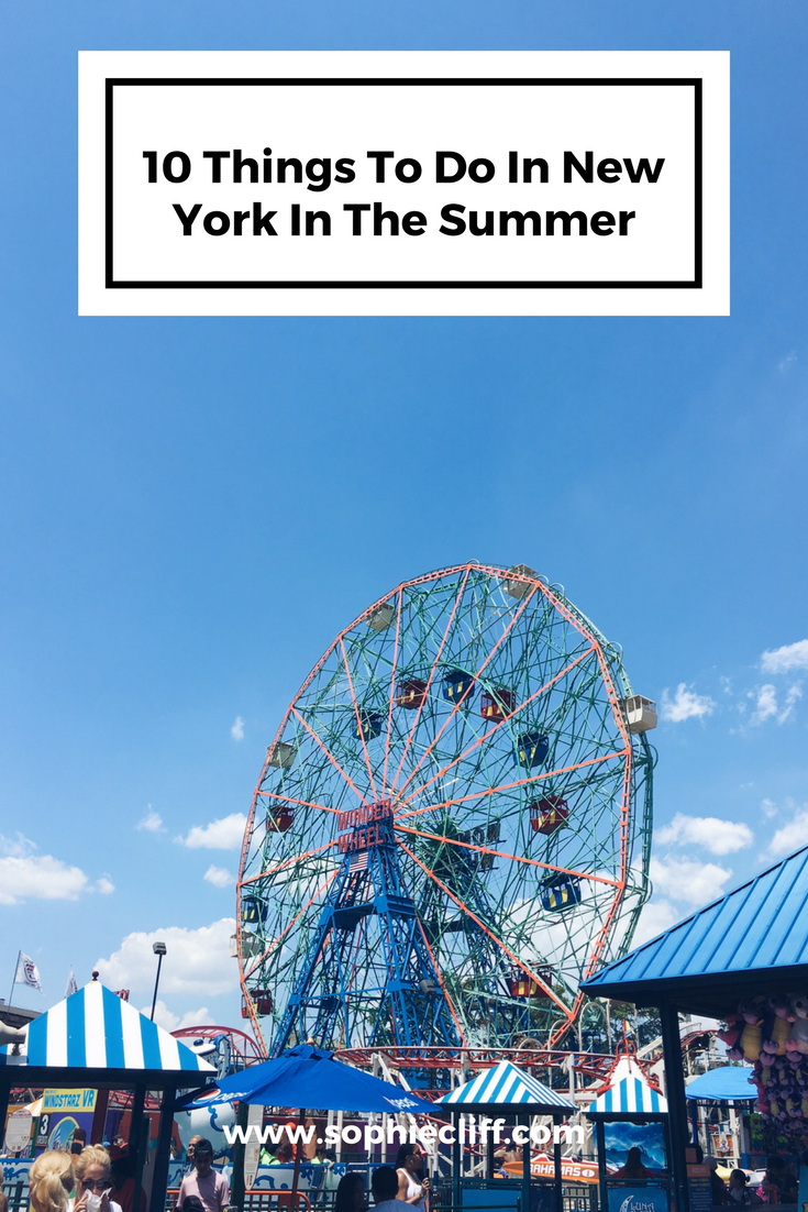 10 things to do in new york in the summer