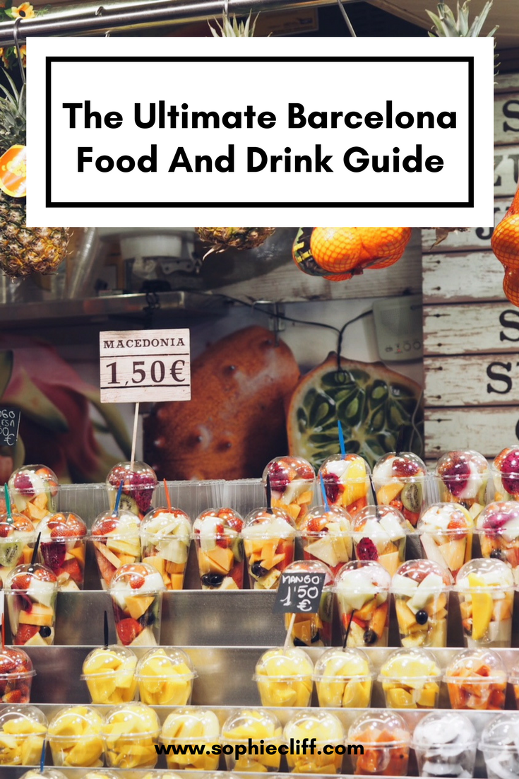 The Ultimate Barcelona Food and Drink Guide
