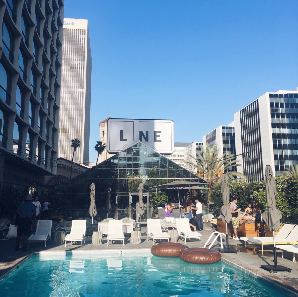la city guide the line hotel