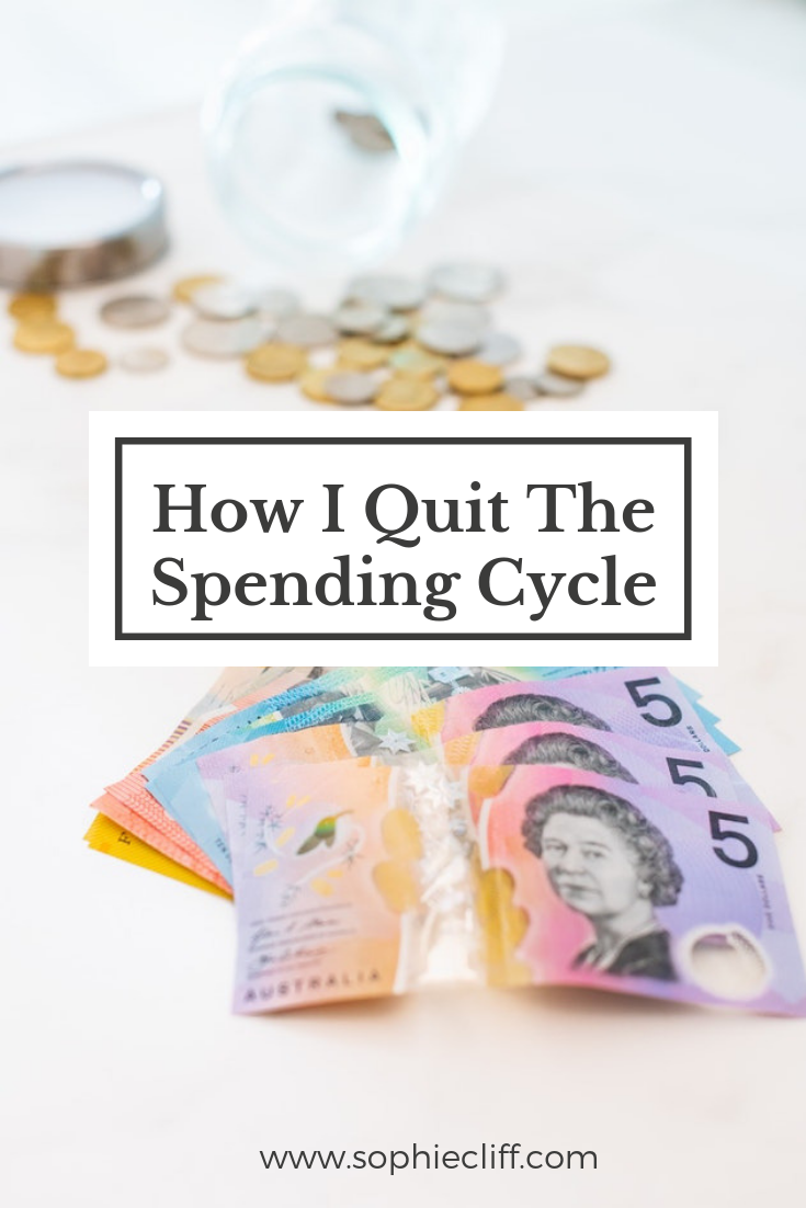 How I quit the spending cycle