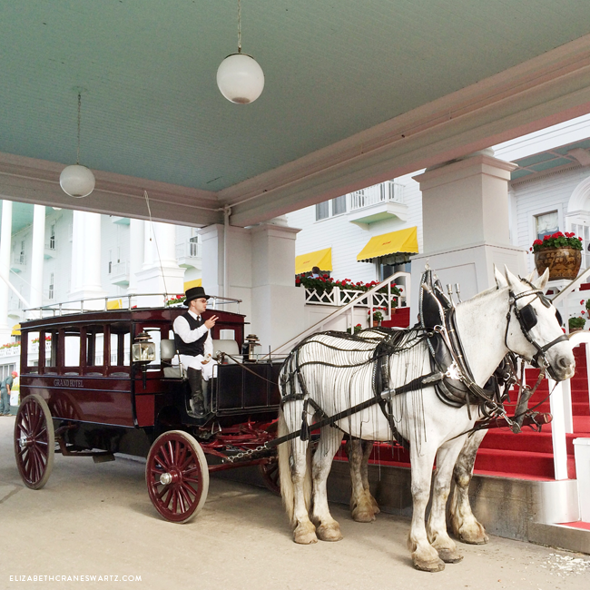 grand hotel carriage ride