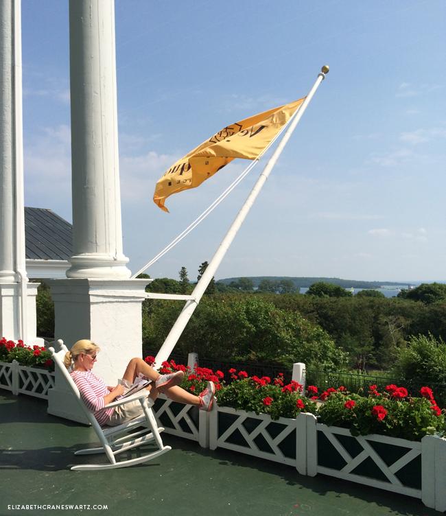 the porch at the grand hotel / mackinac island / elizabethcraneswartz.com