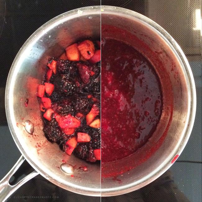 blackberry chia jam / elizabethcraneswartz.com