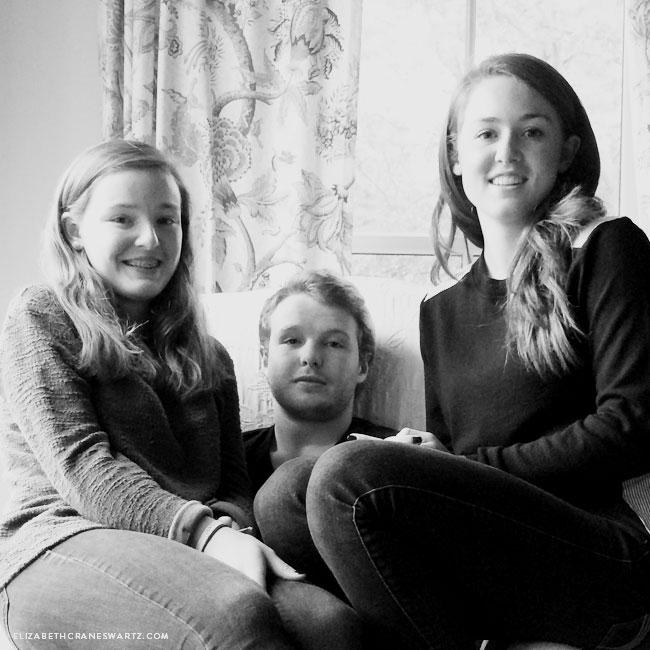 my three kids / elizabethcraneswartz.com