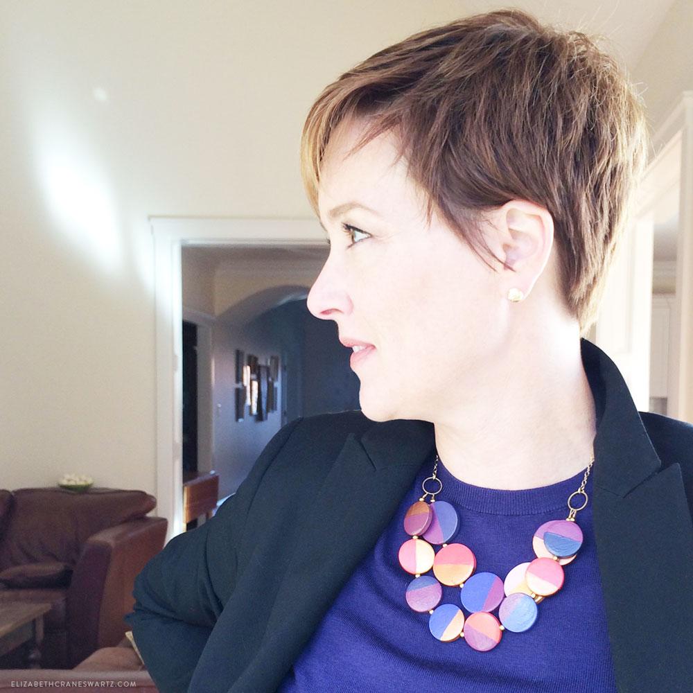 the erin necklace / elizabethcraneswartz.com