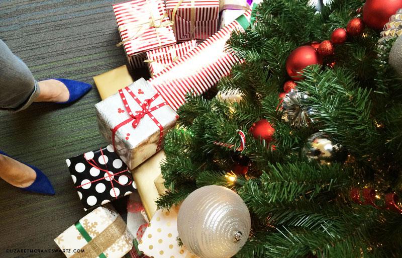home for the holidays with wayfair / elizabethcraneswartz.com