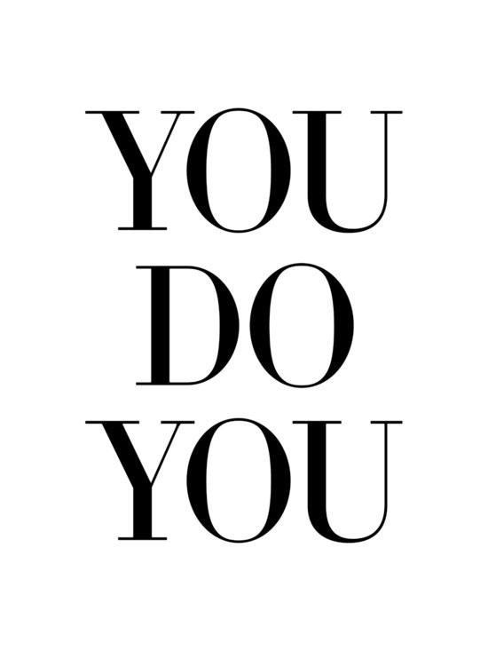you do you print by sarah tolzman / note to self
