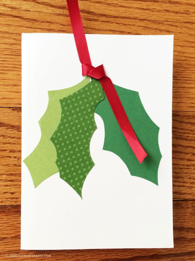 handmade holiday cards / elizabethcraneswartz.com