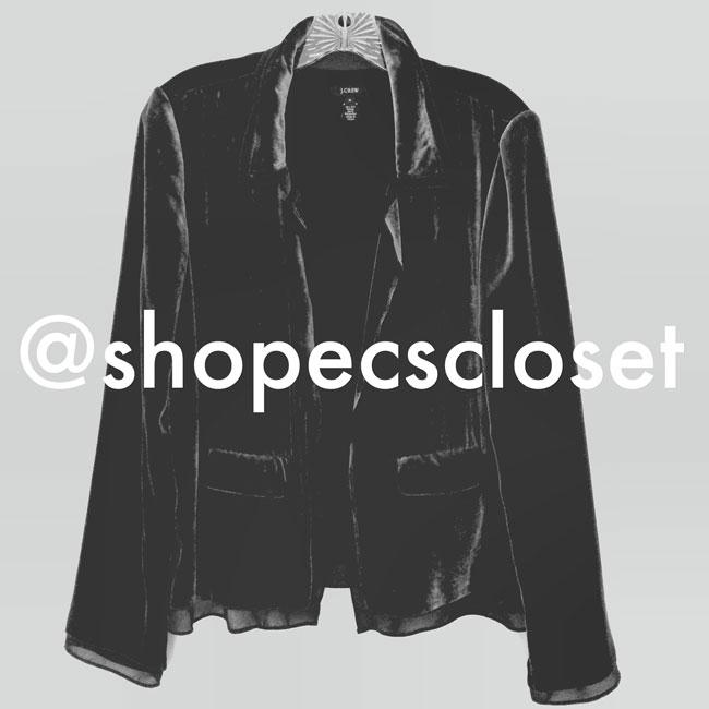 @shopecscloset on instagram
