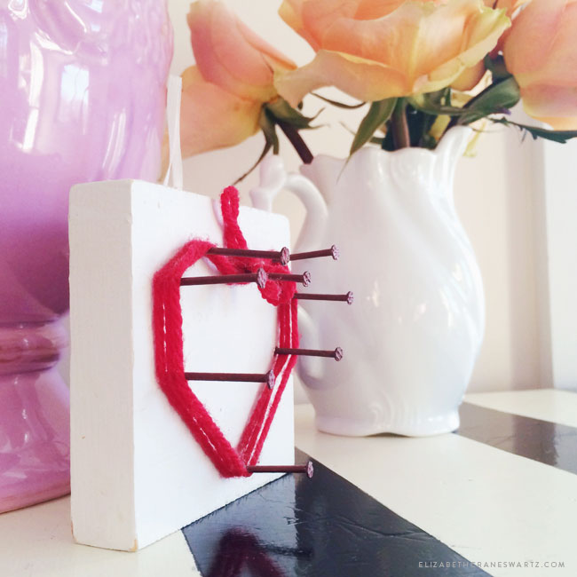 handmade valentines / elizabethcraneswartz.com