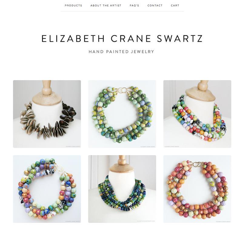 elizabeth crane swartz jewelry / shop update