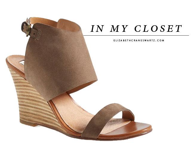 halogen wedge sandals / elizabethcraneswartz.com