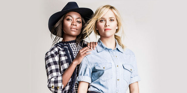 ruby amanfu & reese witherspoon / draper james
