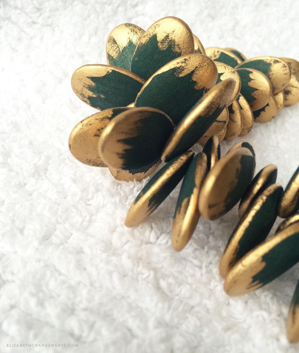 hand painted jewelry / elizabethcraneswartz.com
