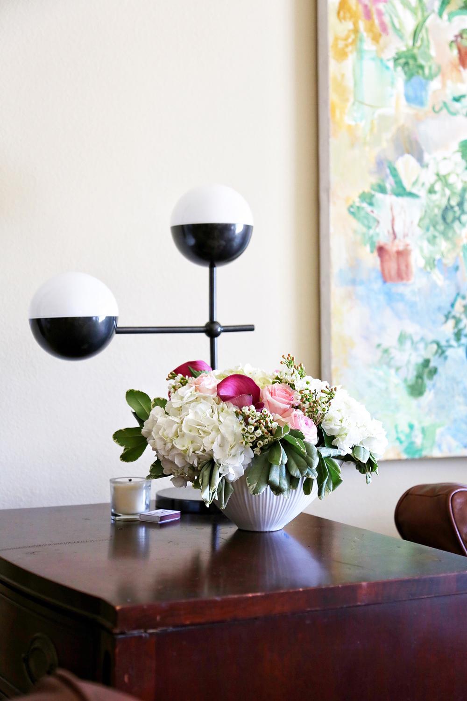 alice's table floral arranging / elizabethcraneswartz.com