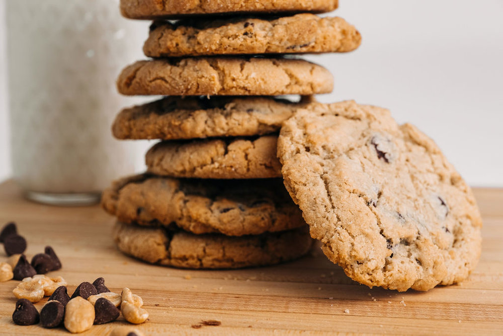 Cookies - Chocolate chip, Oatmeal Raisin, and more! A classic that tastes better than any cookie you've ever had!