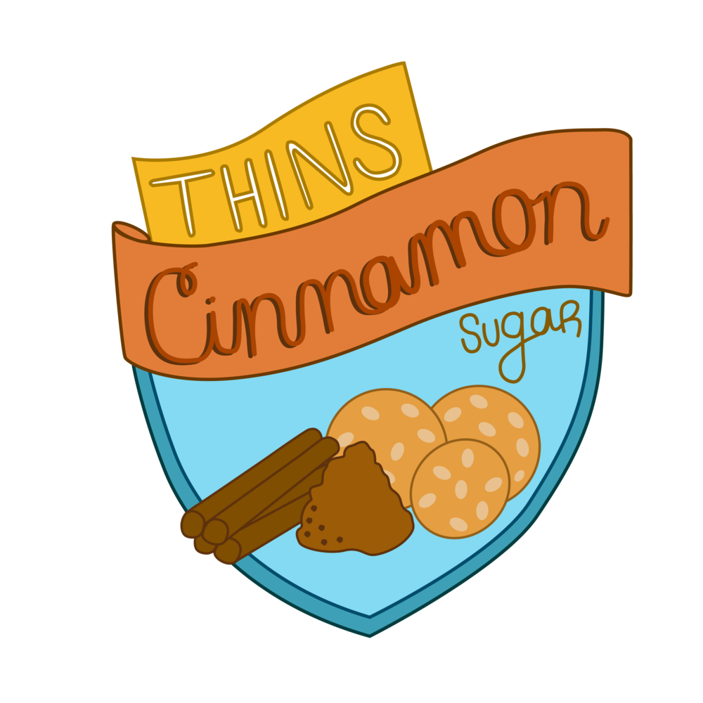 Thins Cinnamon Sugar - Sweet as can be, but ready to rip your chips out at a moment's notice—believe that.