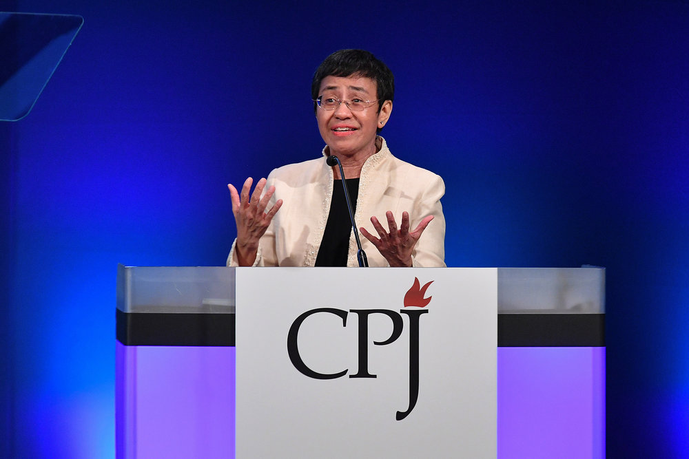 Maria Ressa (Dia Dipasupil Getty Images for CPJ)