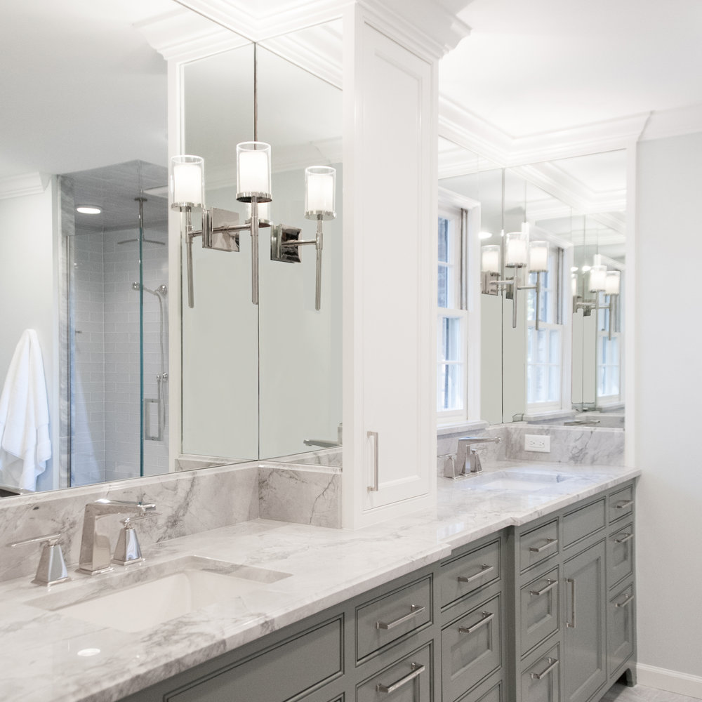 Clean & Classic Master Bathroom -