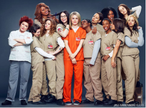 Photo taken from Orange is the New Black Facebook