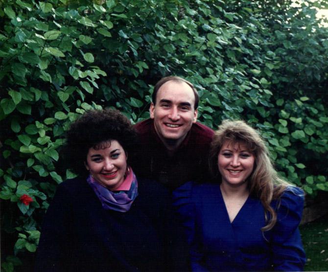 Linda, David, and Tammy