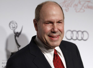 Michael Eisner arrives at the Academy of Television Arts & Sciences 21st annual Hall of Fame Gala in Beverly Hills March 1, 2012. Eisner was inducted into the Hall of Fame and was president of Paramount Pictures, CEO of The Walt Disney Company and is founder of the private Tomante Company that incubates and invests in media and entertainment ventures. REUTERS/Fred Prouser  (UNITED STATES - Tags: ENTERTAINMENT) - RTR2YPWZ