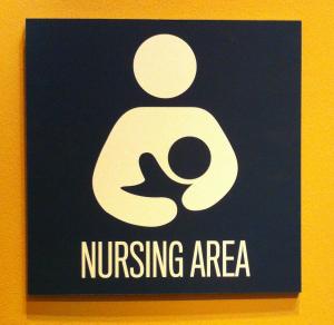 Nursing Area sign