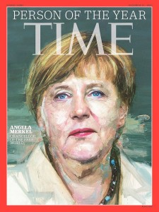 Merkel Time Cover
