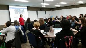 Take The Lead President and Co-founder Gloria Feldt creates and leads training programs to enhance leadership.