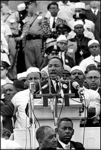 I Have a Dream - delivered 28 August 1963, at the Lincoln Memorial, Washington D.C.