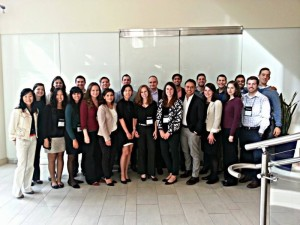 Pictured center left with the PLDP.(See if you can spot John Fallon, Pearson CEO, hidden in the group!)