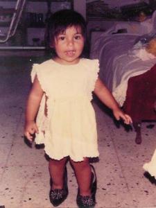 Brave sea nymph Nereyda circa 1991