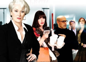 "The 2006 ""Devil Wears Prada"" depicts Meryl Streep as Mirand Priestly, the ultimate Queen Bee boss."