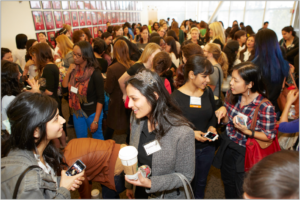 Networking and sharing ideas can books your network as a leader, as attendees discovered at this Female Founders conference recently.