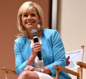 GREENWICH, CT - JUNE 11: Gretchen Carlson speaks Women at the Top: Female Empowerment in Media Panel at the 2016 Greenwich International Film Festival on June 12, 2016 in Greenwich, Connecticut. (Photo by Noam Galai/Getty Images for GIFF)