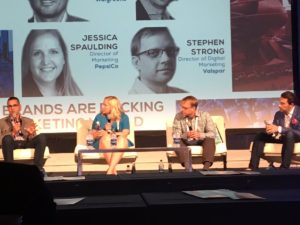 Jessica Spaulding was one of a few women leaders in marketing speaking at the recent Modern Marketing Summit in Chicago.