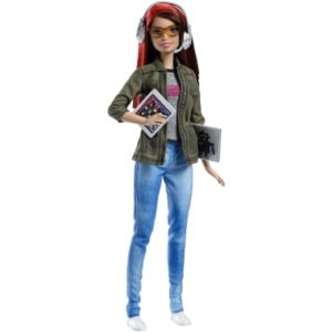 Mattel is changing the way girls can visualize their professional aspirations with new Barbies such as this coder.