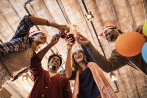 Holiday celebrations can be a good way to demonstrate leadership skills. .