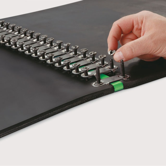 Belt Splicing - Lufkin Rubber & Gasket can fit your belt assembly with mechanical lacing and fasteners produced by the world's finest manufacturers.