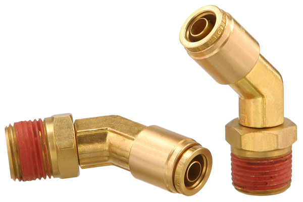 BRASS PUSH-TO-CONNECT